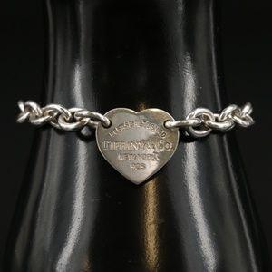 TIFFANY & CO. Silver Return To Tiffany Bracelet
